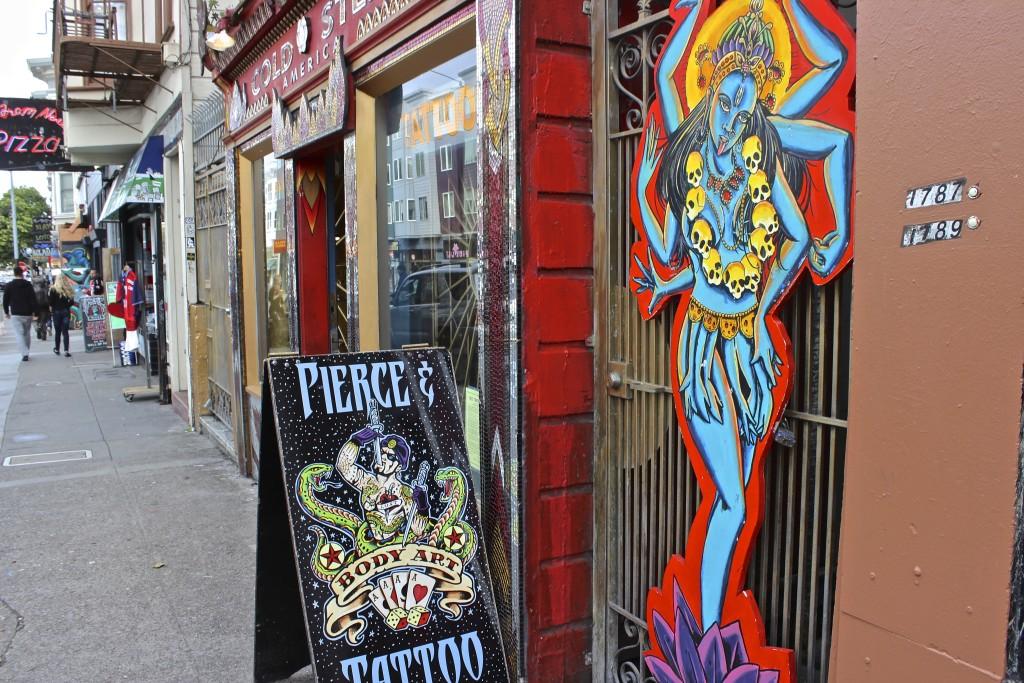 tattoo Haight Ashbury San Francisco