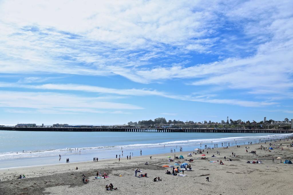 santa-cruz-plage-californie