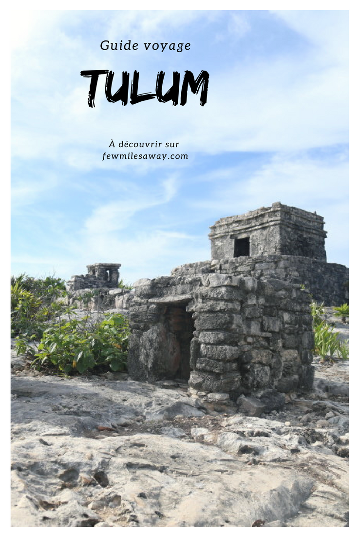 Tulum, la perle du Yucatan...