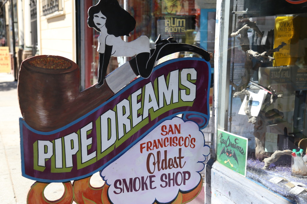smoke shop Haight Ashbury San Francisco
