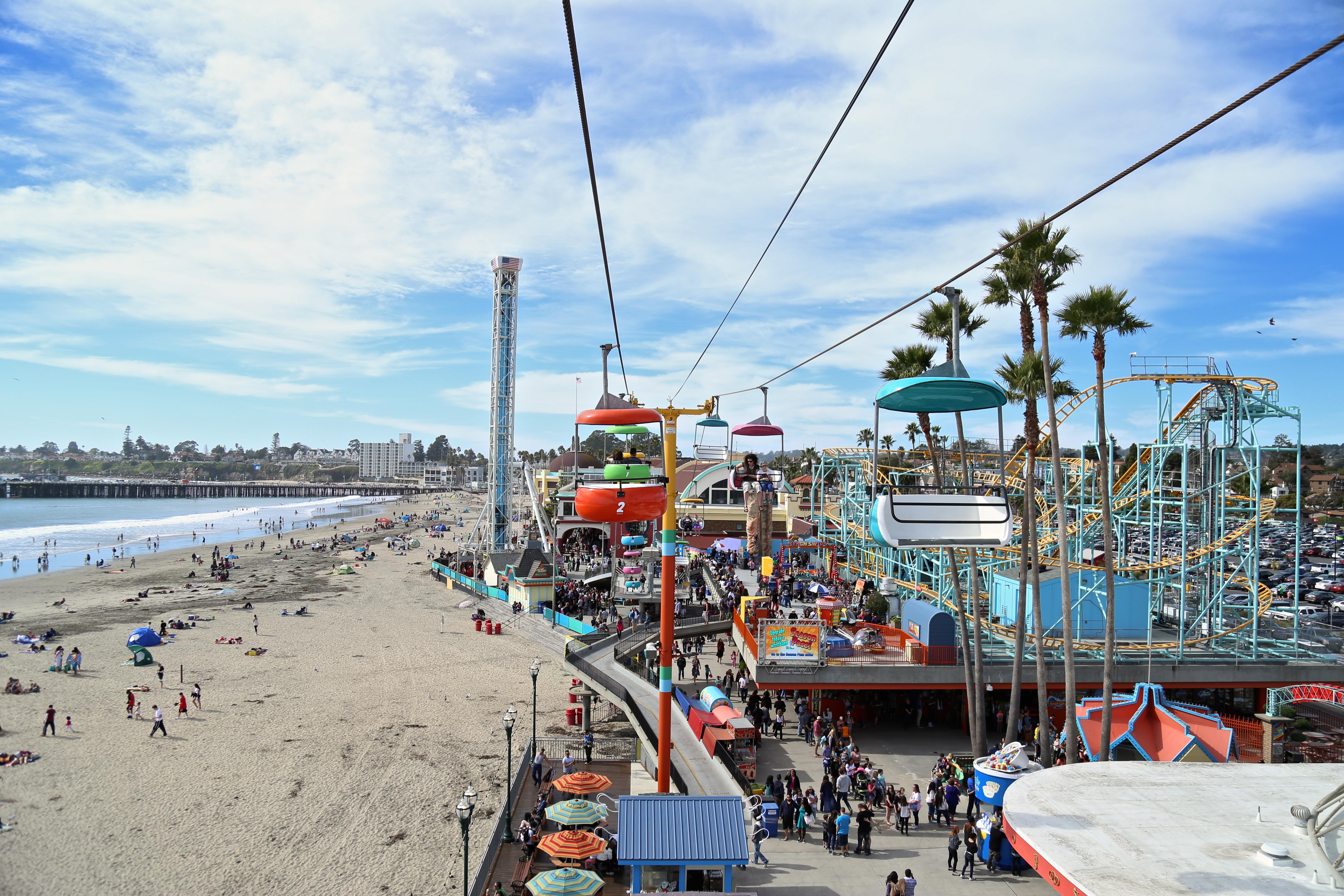 Santa Cruz : La ville du Surf