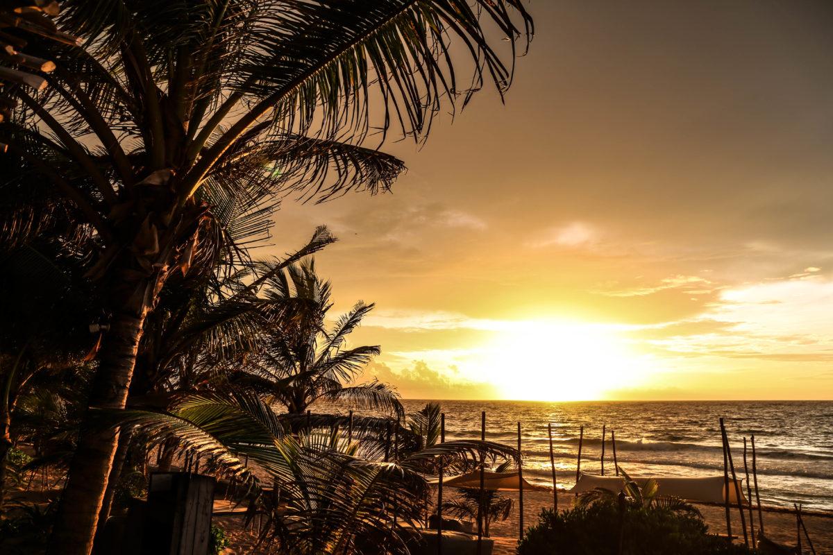 sunrise-tulum-mexique-yucatan-plage-caraibes
